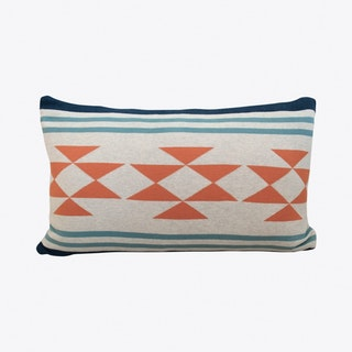 Iben Blue Cushion Cover - Funky Doris