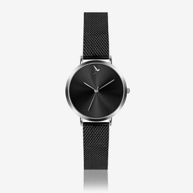 Black Sunray Watch in Black ⌀33 - Emily Westwood