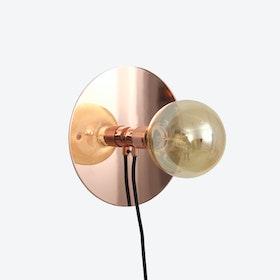 E27 Copper Wall Lamp - Medium