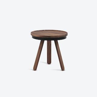 Batea S Coffee Table - Walnut/Black