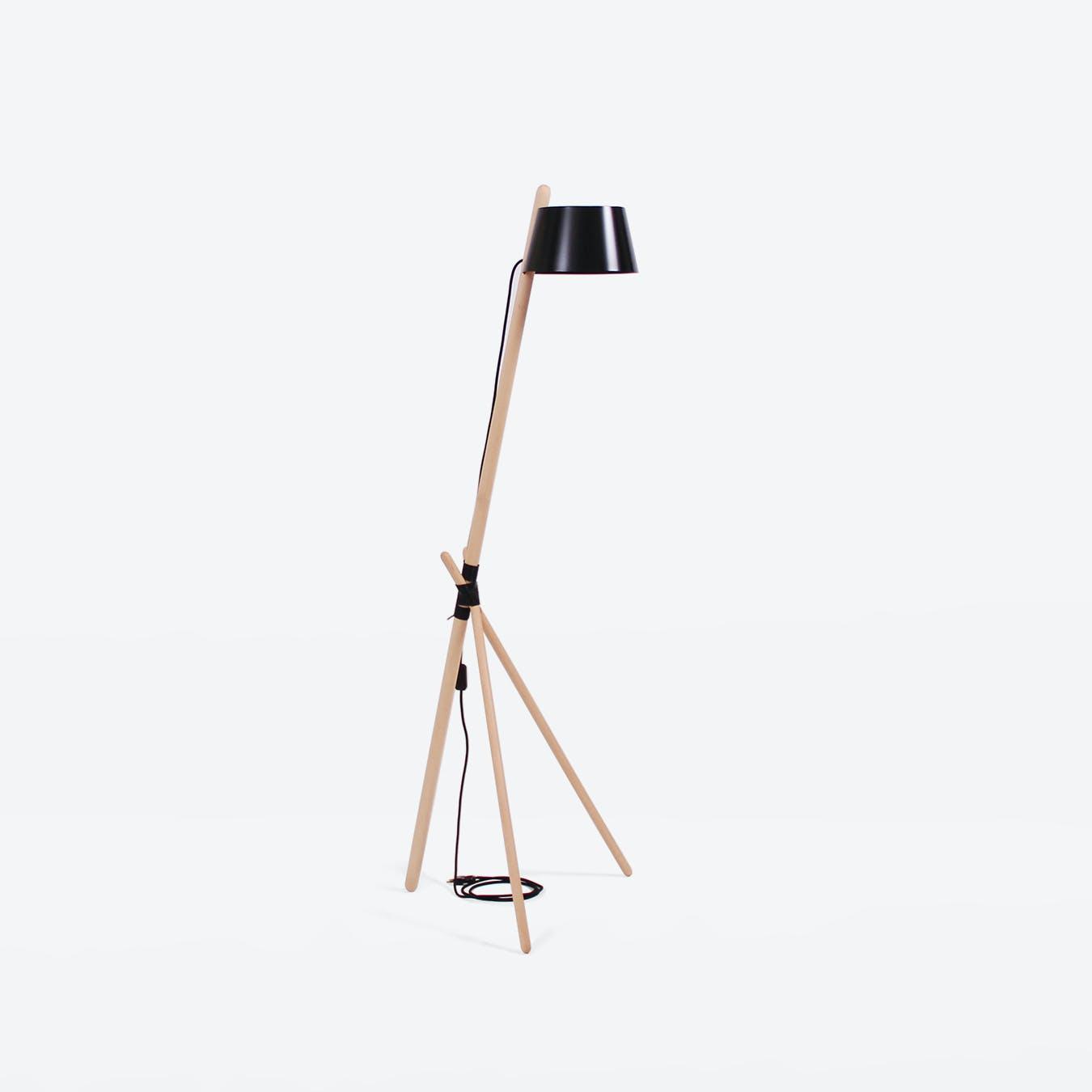Ka M Floor Lamp - Black