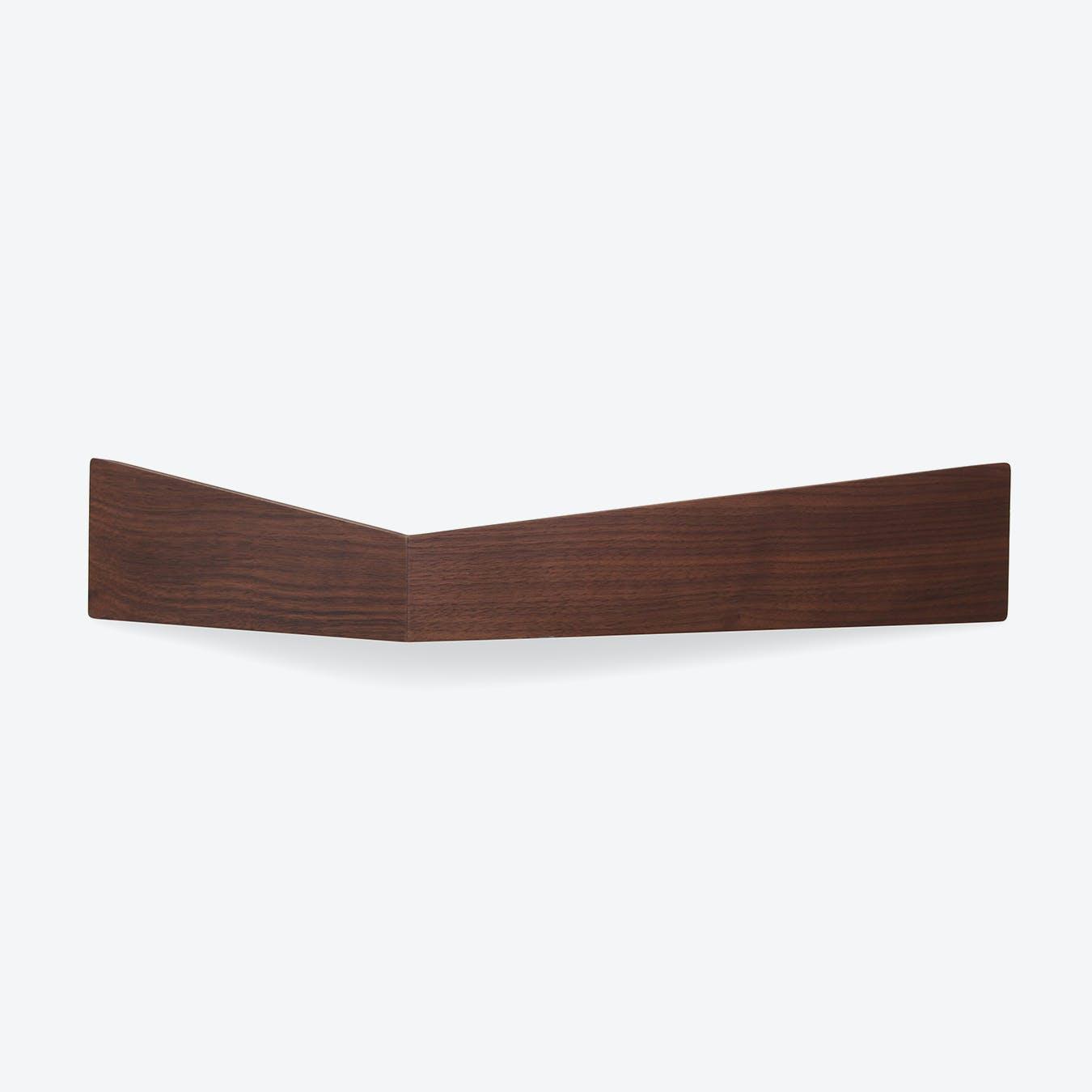 Pelican Shelf L - Walnut