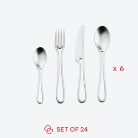 Matte 'Outline' Table Cutlery (set of 24)