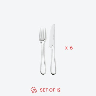 Matte 'Outline' Pastry Cutlery (set of 12)