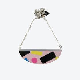 Lunar Necklace - Pink Pizza