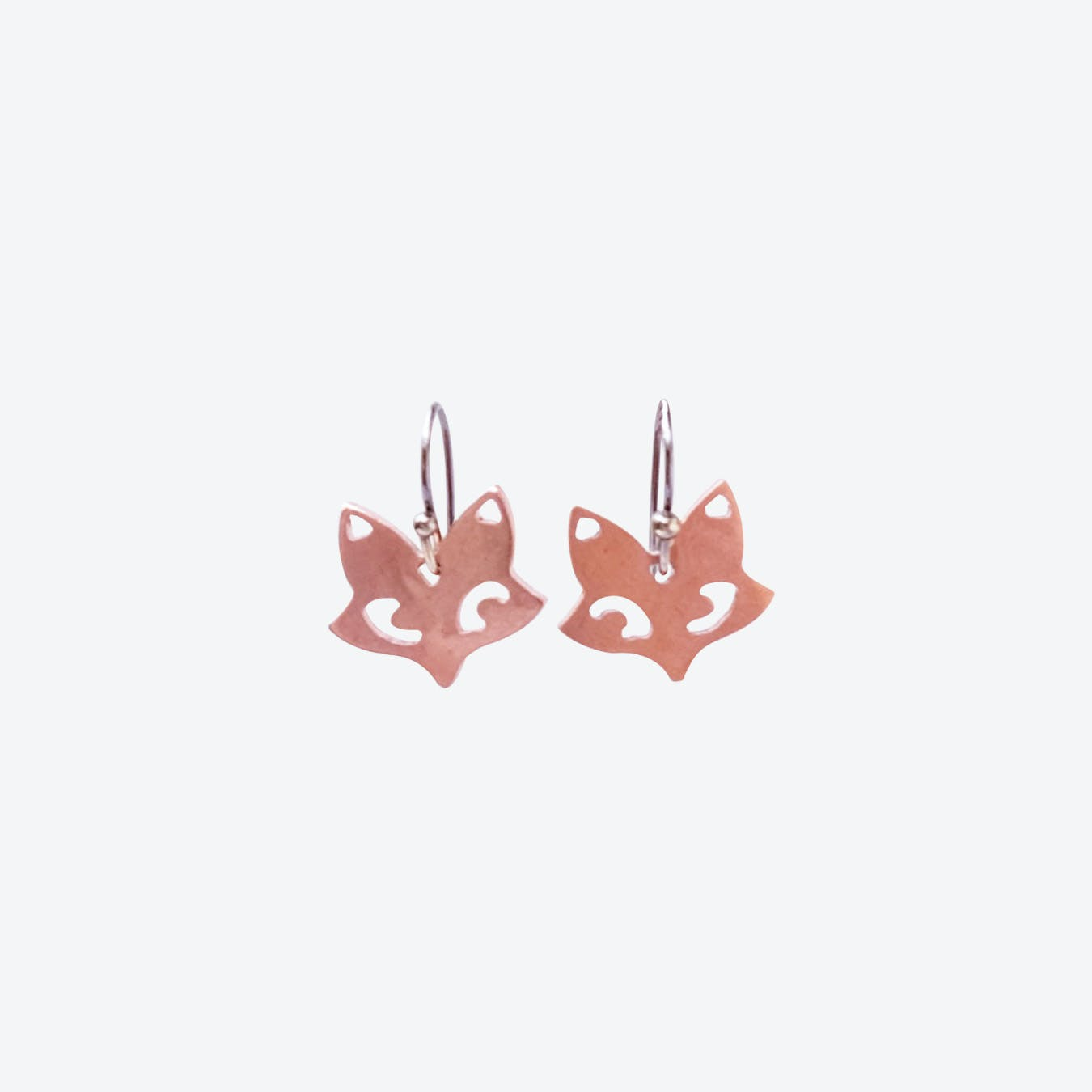 Copper Fox Earrings