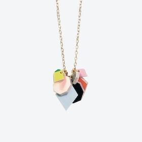Polygon Spectrum Necklace - Gold