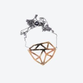 Asymmetric Diamond Necklace