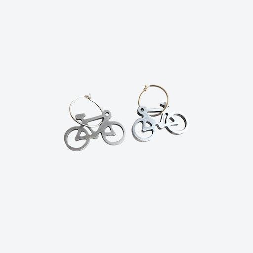 Bicycle Aluminium Earrings