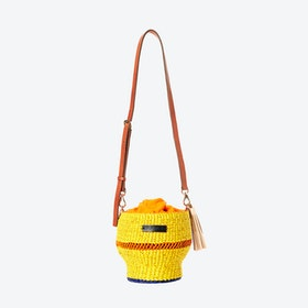 Yellow Baw Pot Bag