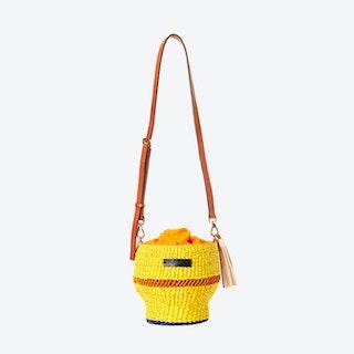 Yellow Baw Pot Bag