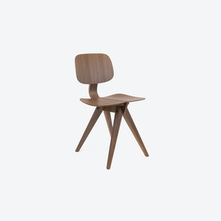 Mosquito Chair in Walnut