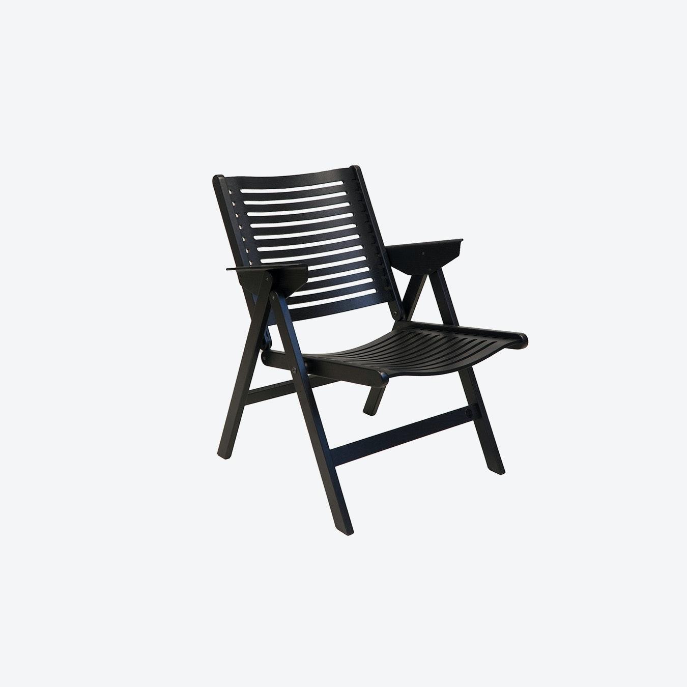 Swell Rex Lounge Chair In Black Ashwood Theyellowbook Wood Chair Design Ideas Theyellowbookinfo