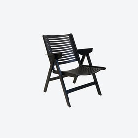 Rex Lounge Chair in Black Beechwood