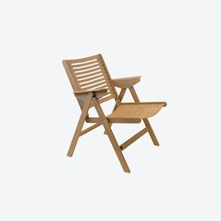Rex Lounge Chair in Oak
