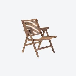 Rex Lounge Chair in Walnut