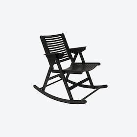 Rex Rocking Chair Black Beechwood