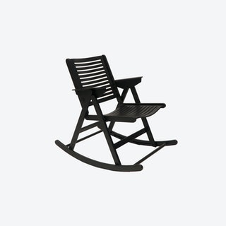 Rex Rocking Chair Black ashwood