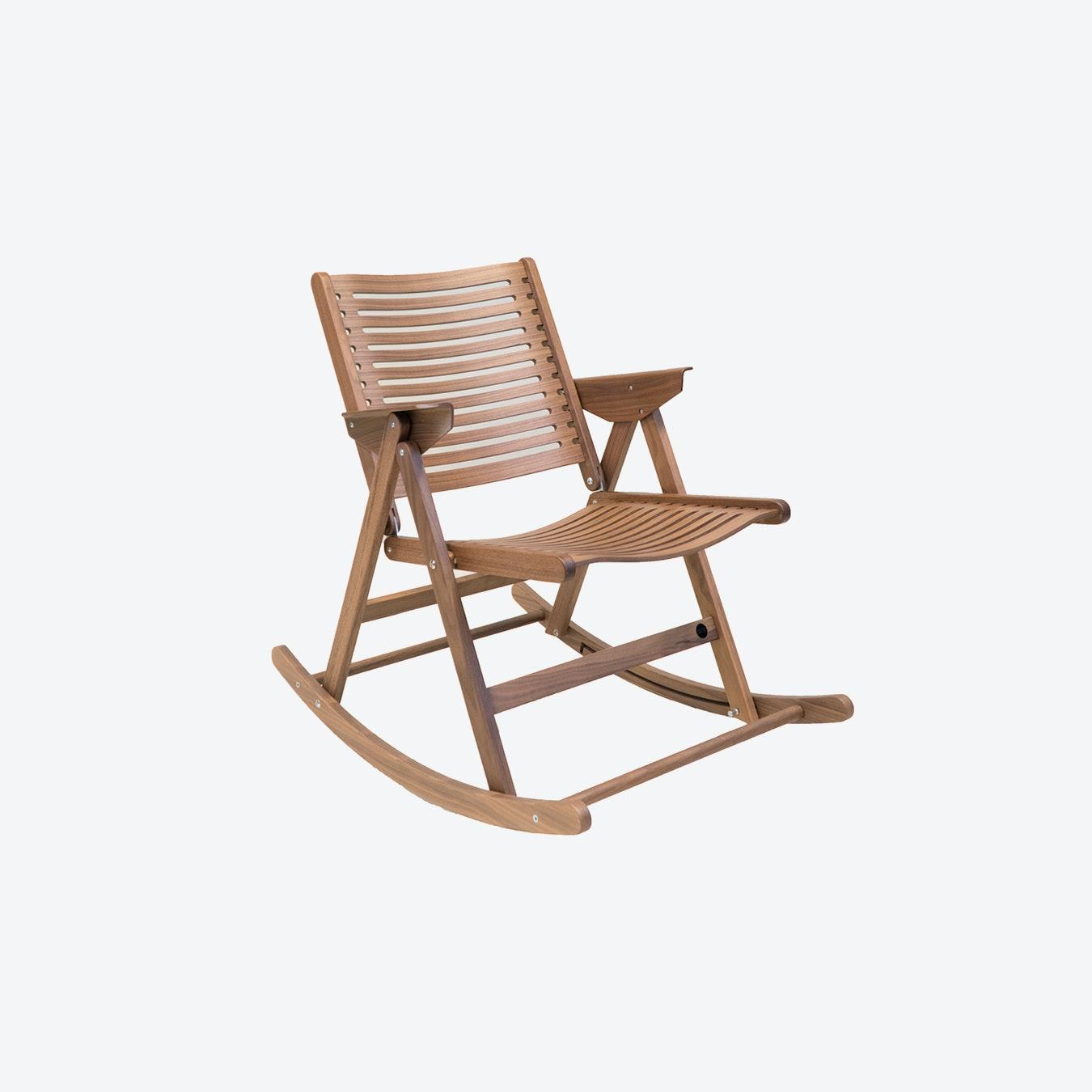Fantastic Rex Rocking Chair Walnut Andrewgaddart Wooden Chair Designs For Living Room Andrewgaddartcom