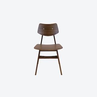 1960 Chair in Walnut
