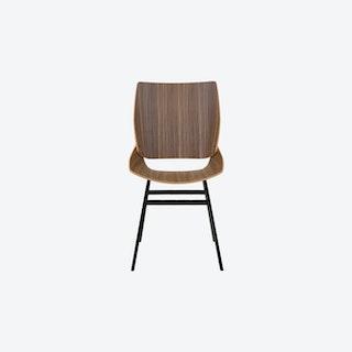 Shell Chair in Walnut