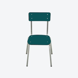 Suzie Chair w/ Steel Legs - Blue Duck