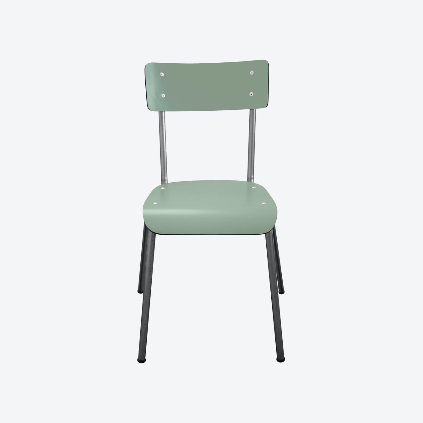 Suzie Chair w/ Steel Legs - Khaki