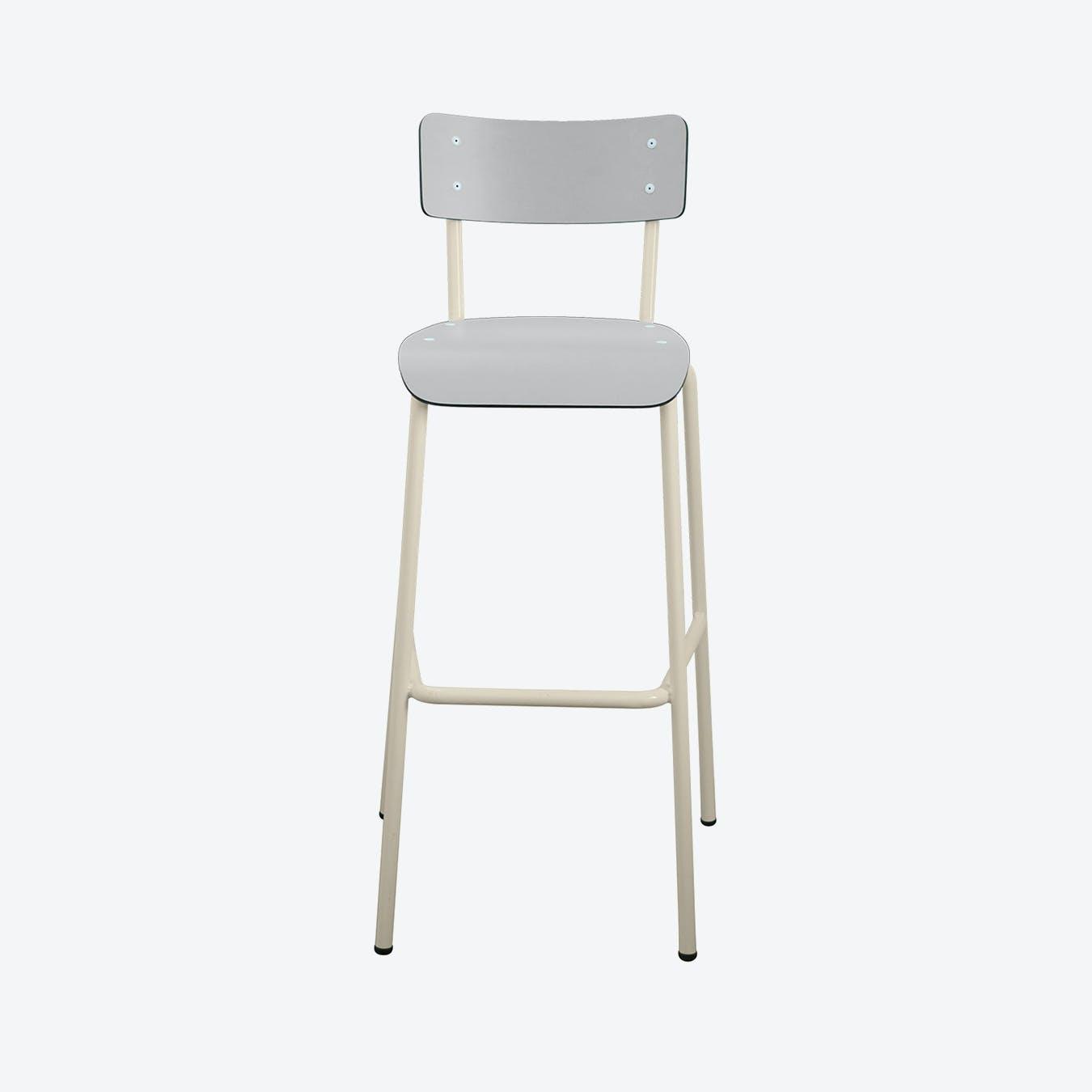 Suzie 75cm High Chair - Light Grey