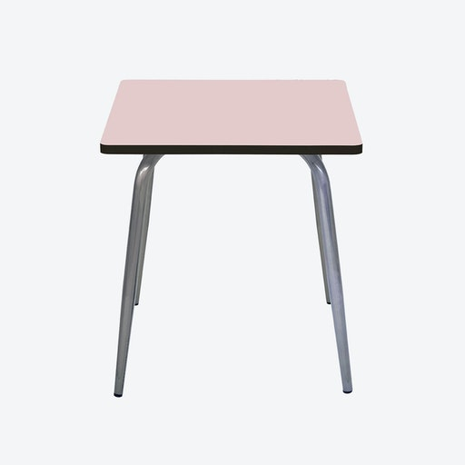 Vera Table w/ Steel Legs - Powdery Pink
