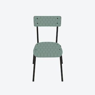 Suzie Chair w/ Black Legs - Art Deco