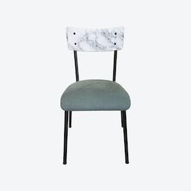 Velvet Suzie Chair - Marble