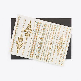 Karma Temporary Tattoos