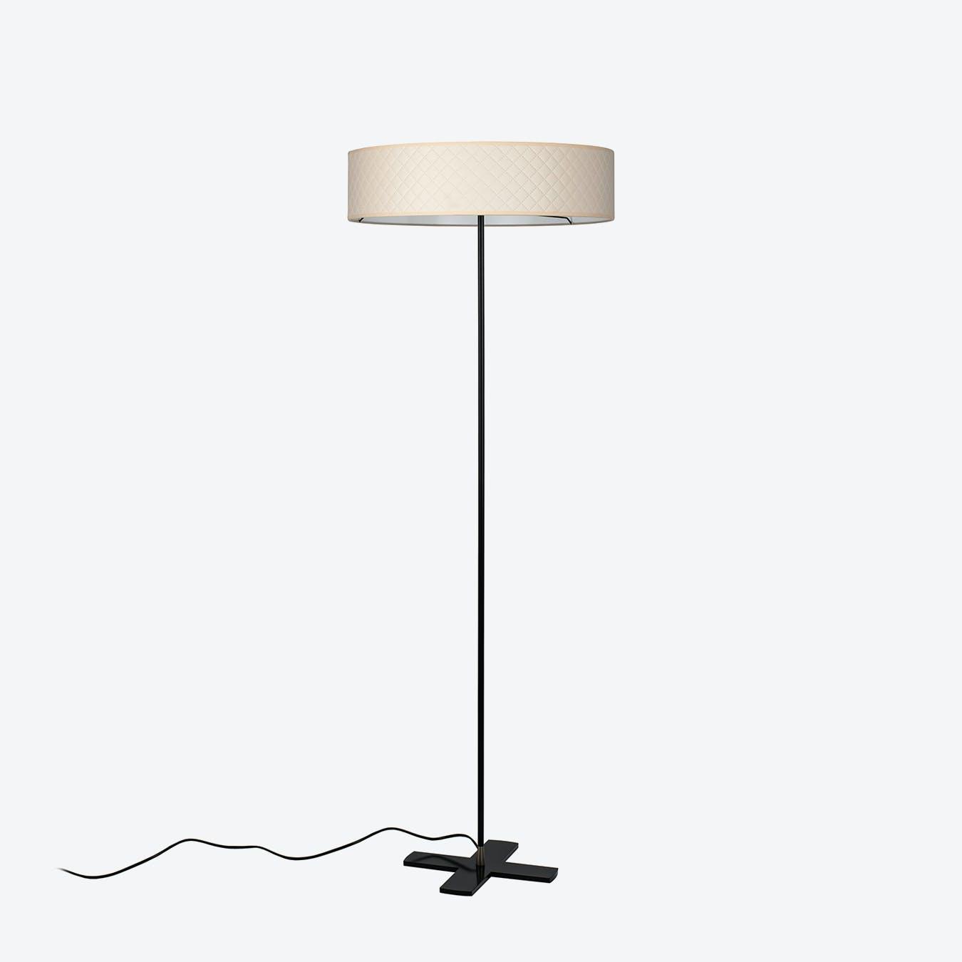 Trece Slim Floor Lamp - Ivory