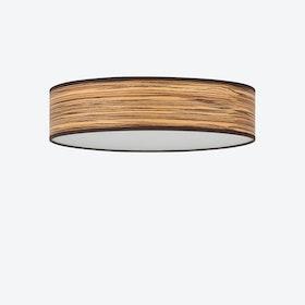 Ocho Ceiling Lamp - Zebrano