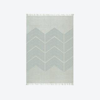 Zigzag Grey Rug