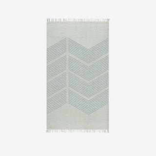 Zigzag Grey Runner