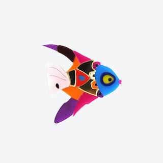 Circus Fish Brooch