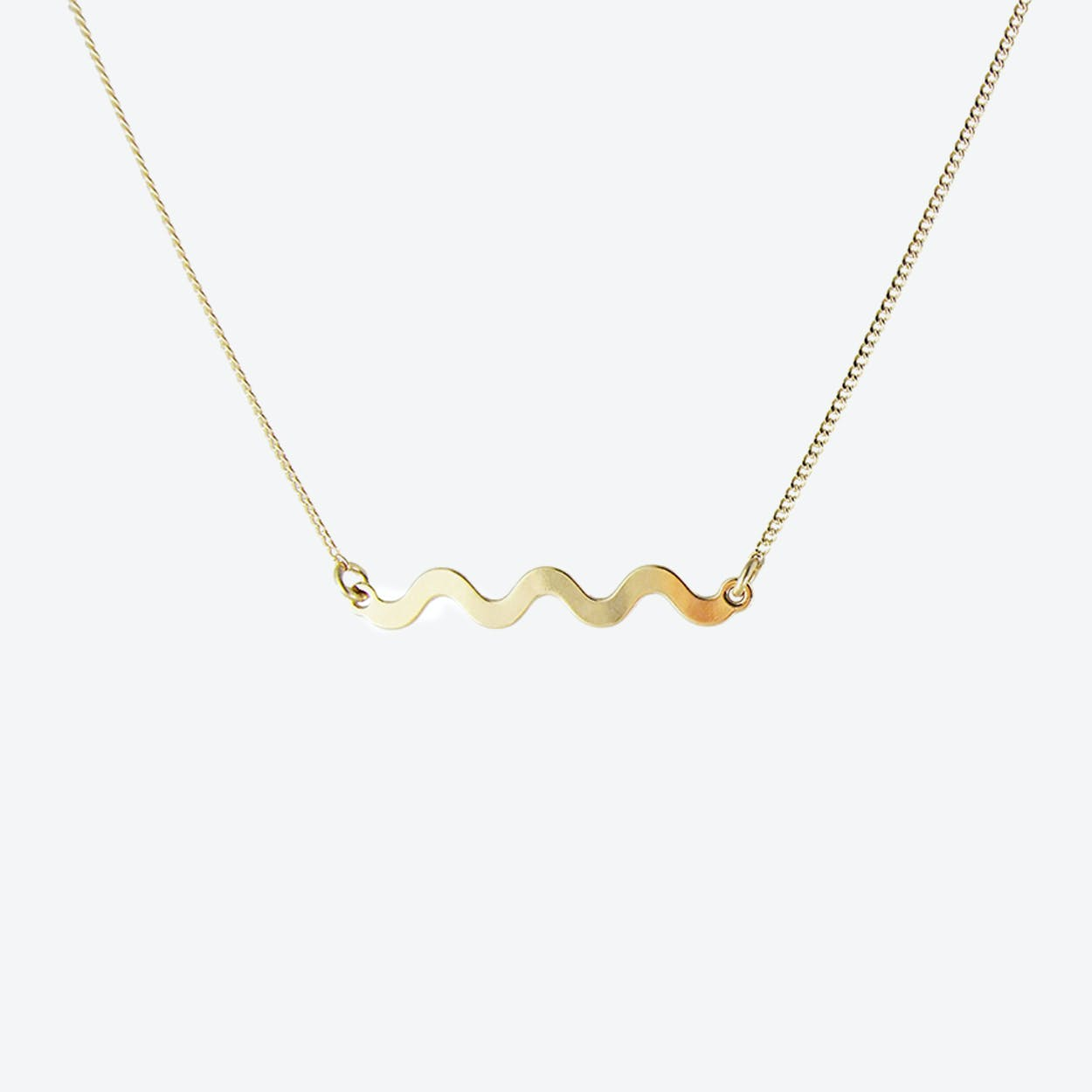 Memphis Squiggle Necklace