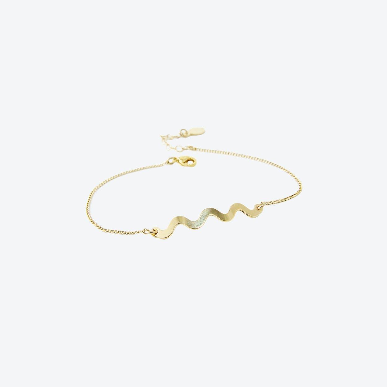 Memphis Squiggle Bracelet