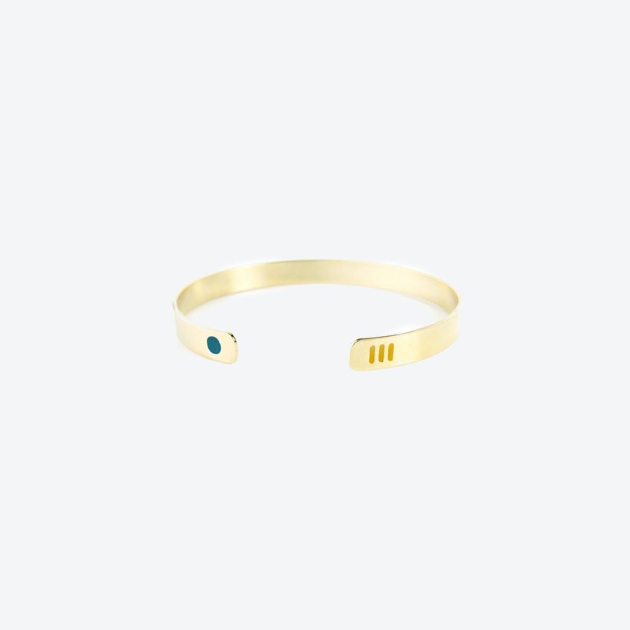 Miami Bracelet - Emerald & Saffron