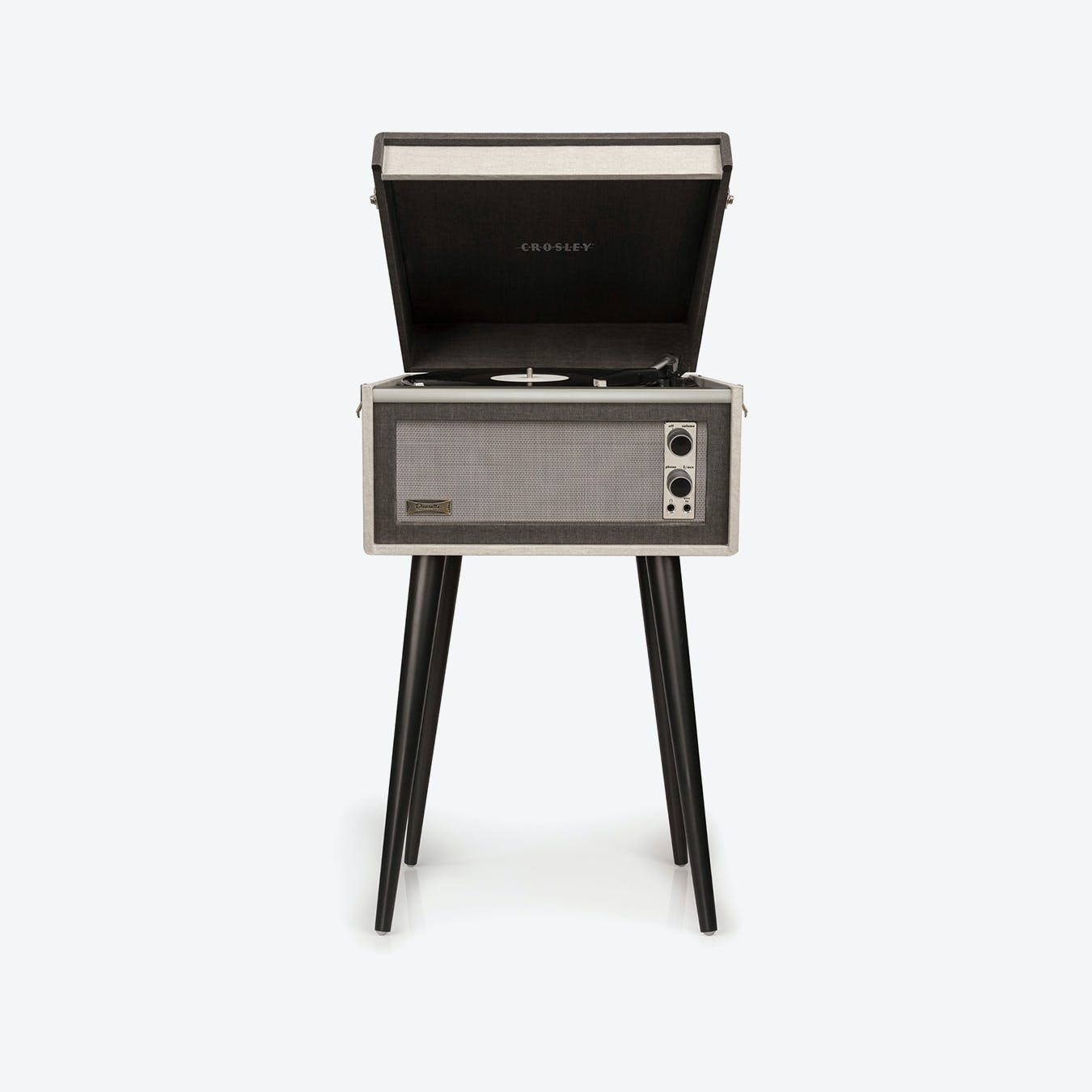 Crosley Bermuda - Black Grey