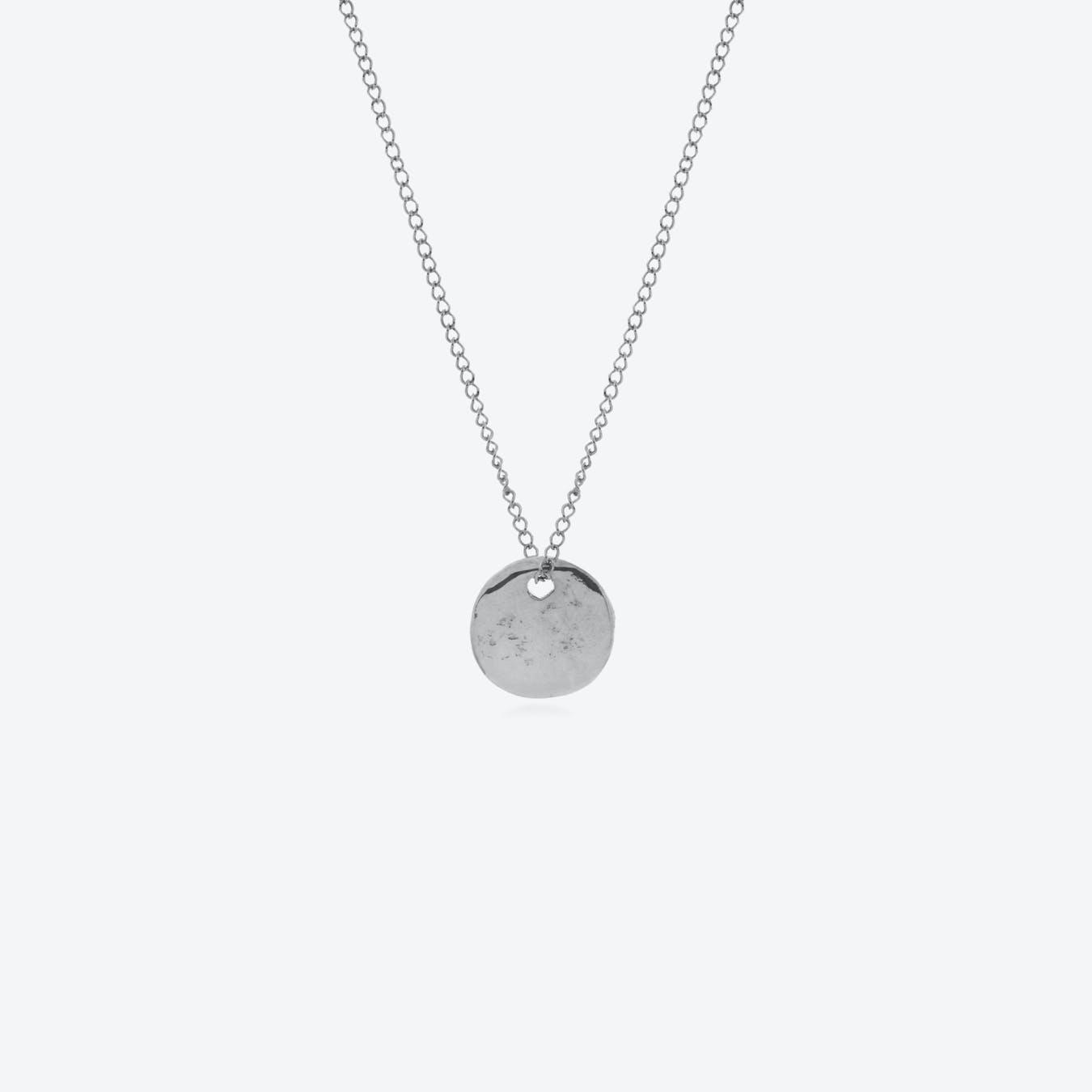 Disco Inferno Necklace - Silver