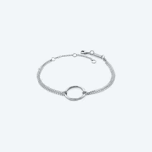 Circle Of Life Bracelet - Silver
