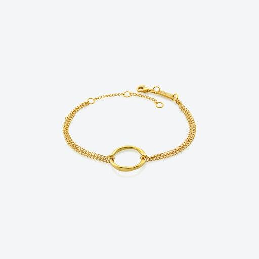 Circle Of Life Bracelet - Gold