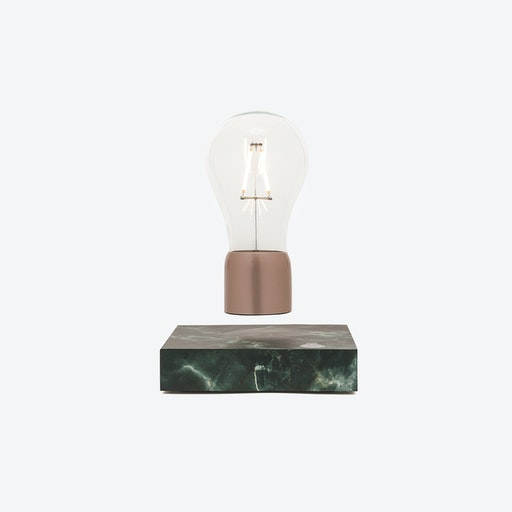 PÆR Levitating Light in Black Marble