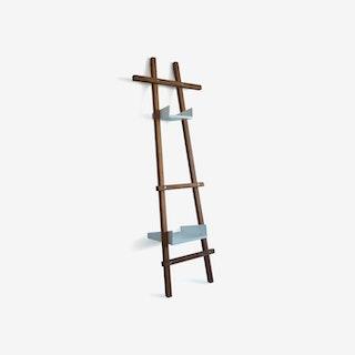 FOLD Towel Rack - Wood