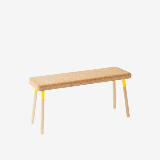 MARCO Bench - Cork/Yellow