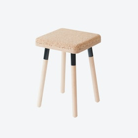 MARCO Stool - Cork/Black