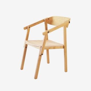 ATELIER Arm Chair - Oak Varnish