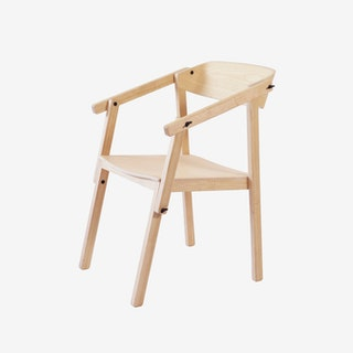 ATELIER Arm Chair - Ash Varnished